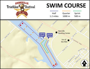 Kerrville-Swim-Course-Map