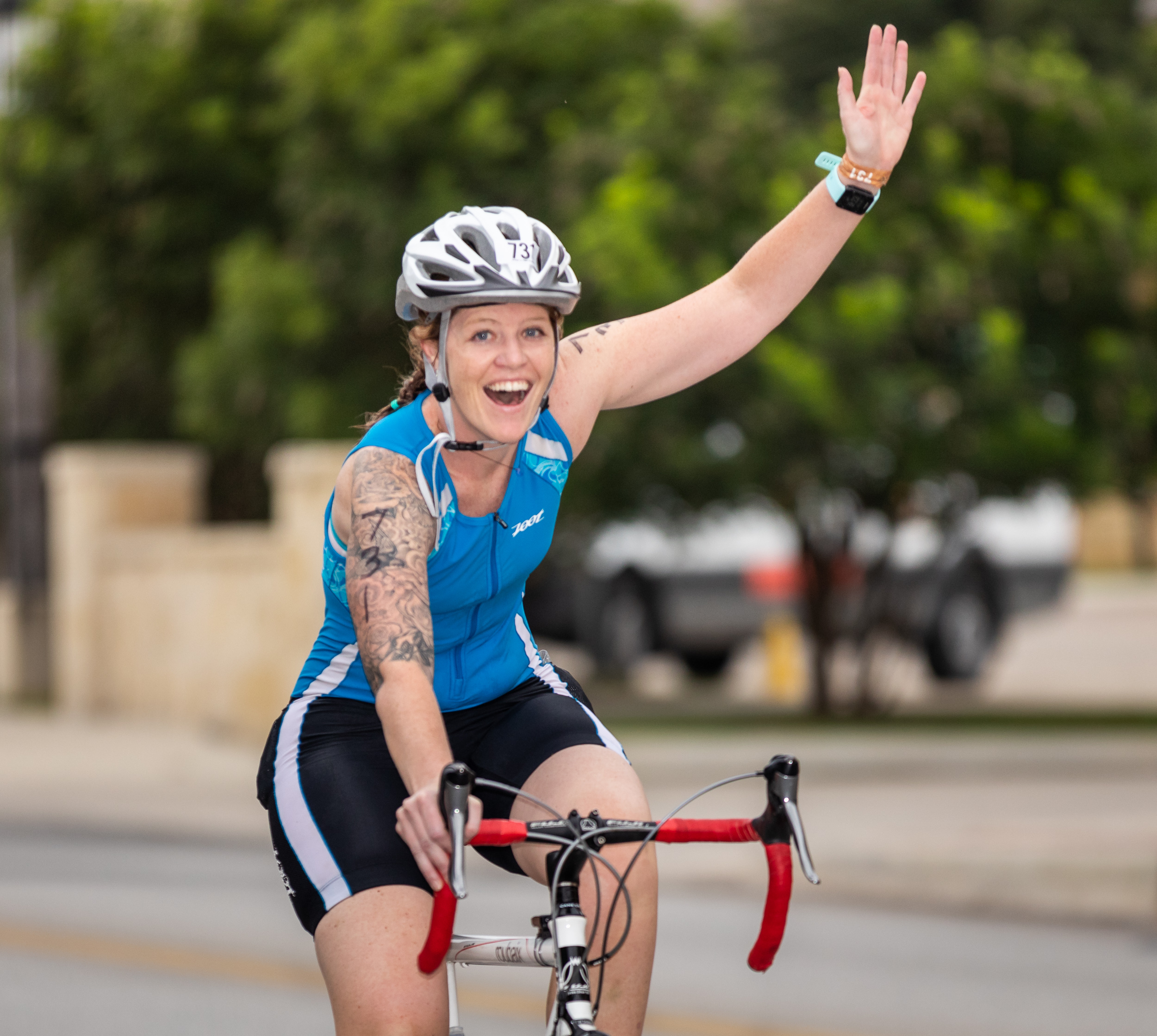 Cycling in the offseason can improve your cardiovascular system.