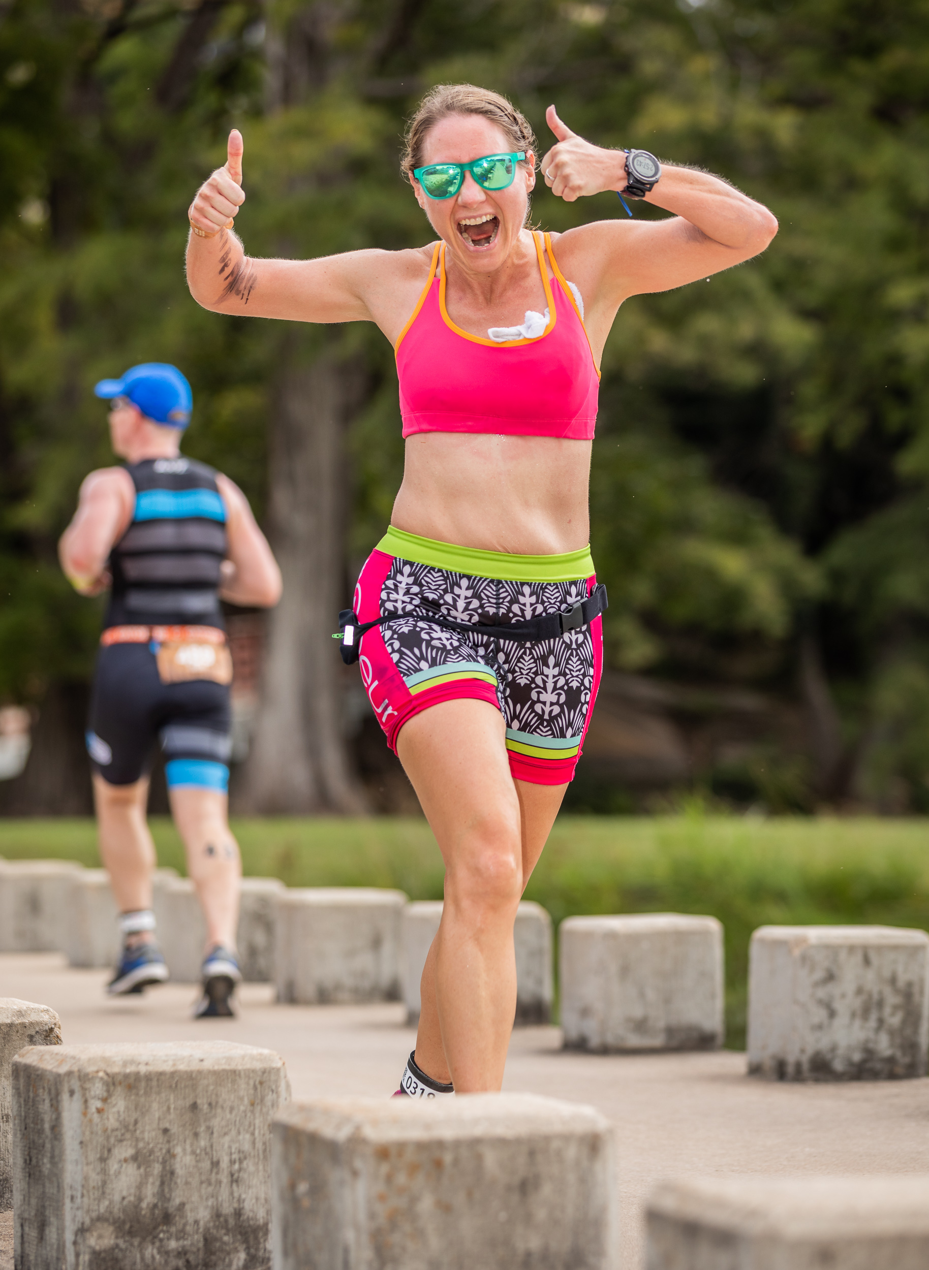 Continuing to run can help maintain body weight during the offseason.