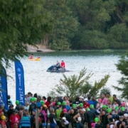 Swim course safety for kerrville tri